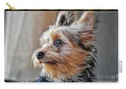 Yorkshire Terrier Dog Pose #2 Carry-all Pouch