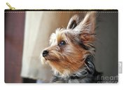 Yorkshire Terrier Dog Pose #5 Carry-all Pouch