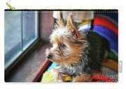 Yorkshire Terrier Dog Pose #8 Carry-all Pouch