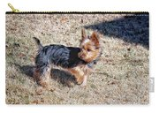 Yorkshire Terrier Dog Pose #9 Carry-all Pouch