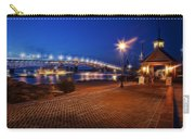 Yorktown Waterfront At Night Carry-all Pouch