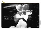 Yosemite Dogwoods Black And White Carry-all Pouch