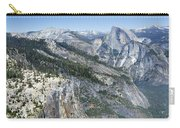 Yosemite Falls And Valley From Eagle Tower Detail - Yosemite Carry-all Pouch