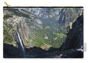 Yosemite Falls And Valley From Eagle Tower - Yosemite Carry-all Pouch