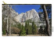 Yosemite Falls Through The Trees Carry-all Pouch