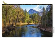 Yosemite Merced River With Half Dome Carry-all Pouch