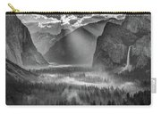 Yosemite Morning Sun Rays Carry-all Pouch