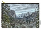 Yosemite National Park Tunnel View  Carry-all Pouch