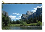 Yosemite Valley View X Carry-all Pouch