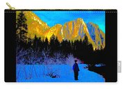 Yosemite Valley Winter Walk Carry-all Pouch