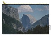 Yosemite View Of El Capitan And Half Dome Carry-all Pouch