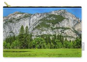 Yosemite West Valley Meadow Panorama #2 Carry-all Pouch