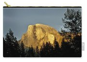 Yosemite's Half Dome At Sunset Carry-all Pouch