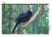 You Are My Audience - Bird Perched Carry-all Pouch