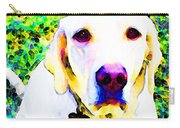 You Are My World - Yellow Lab Art Carry-all Pouch