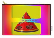 Abstract You Crack Me Up Carry-all Pouch