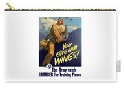 You Give Him Wings - Ww2 Carry-all Pouch