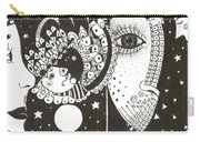 You Me The Stars And The Moon Carry-all Pouch