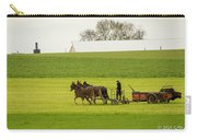 Young Amish Farmer Carry-all Pouch