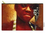 Young Black Female Teen 1 Carry-all Pouch