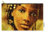 Dreadlocks And Beads Carry-all Pouch