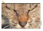 Young Bobcat Portrait 01 Carry-all Pouch