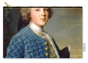 Young Boy Percy Wyndham Carry-all Pouch
