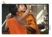 Young Buddhist Monks Laos Carry-all Pouch