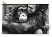 Young Chimpanzees Carry-all Pouch