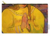 Young Christian Girl 1894 Carry-all Pouch