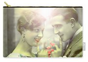 Young Couple Flirting Carry-all Pouch