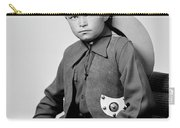Young Cowboy Sitting Carry-all Pouch