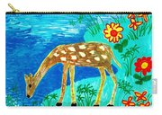 Young Deer Drinking Carry-all Pouch