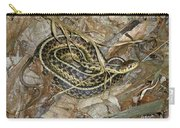Young Eastern Garter Snake - Thamnophis Sirtalis Carry-all Pouch