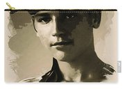 Young Faces From The Past Series By Adam Asar - Asar Studios, No 1 Carry-all Pouch