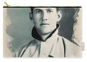 Young Faces From The Past Series By Adam Asar, No 78 Carry-all Pouch