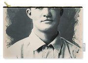 Young Faces From The Past Series By Adam Asar, No 79 Carry-all Pouch