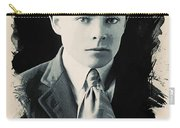 Young Faces From The Past Series By Adam Asar, No 90 Carry-all Pouch