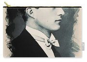 Young Faces From The Past Series By Adam Asar, No 95 Carry-all Pouch