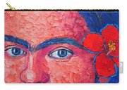 Young Frida Kahlo Carry-all Pouch