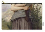 Young Girl, By William-adolphe Bouguereau Carry-all Pouch