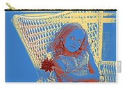 Young Girl With Blue Eyes Carry-all Pouch