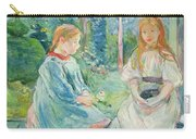 Young Girls At The Window Carry-all Pouch by Berthe Morisot