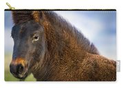 Young Icelandic Horse Carry-all Pouch
