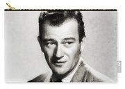 Young John Wayne, Hollywood Legend Carry-all Pouch