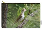 Young Lark Sparrow 1 Carry-all Pouch