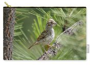 Young Lark Sparrow 2 Carry-all Pouch
