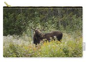 Young Male Moose Carry-all Pouch
