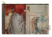 Young Man On A Door French Room, Emilio Carry-all Pouch
