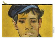 Young Man With A Hat Carry-all Pouch